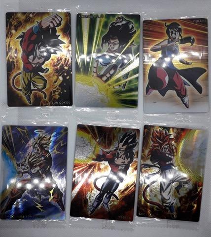 Set Tarjetas Dragon Ball Card Unlimited Vol 2 Coleccionables