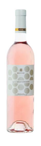 Vinho Franc Rose Esprit Mediterranee Igp 2017 750 Ml - Berne
