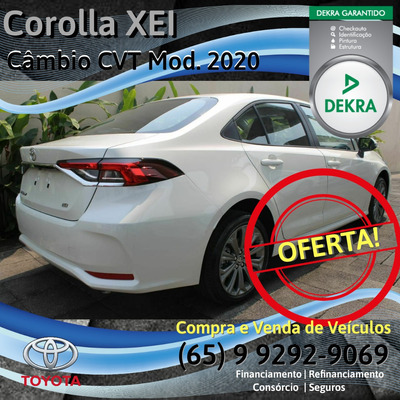 Toyota Corolla 2.0 Xei Dynamic Force Flex Aut. 4p 2020