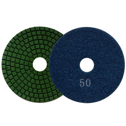 Pad De Diam Pulido Vlcro Color Azul Mar Austromex Aus2760