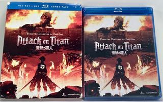 Ataque A Los Titanes Parte 1 Dvd +blu Ray 4 Nuevo Original