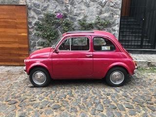 Fiat 500, Modelo 1970, Auto De Coleccion Placas Auto Clasico