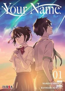 Manga Your Name # 01 - Makoto Shinkai