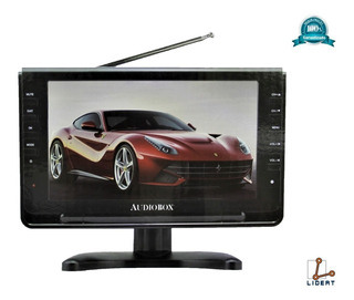 Tv Digital Portatil Lcd 9 Usb Sd Antena Envio Gratis Tv-009