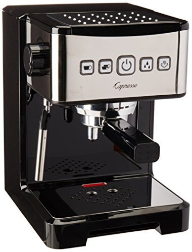 Capresso 12401 Ultima Pro Espresso Machine Cafetera Blacksta
