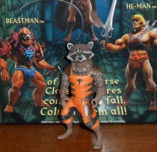 Muñeco Marvel Legends Hasbro Groot Rocket Racoon Movie Mcu