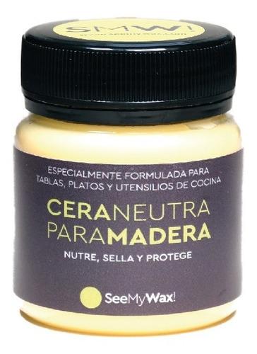 Imagen 1 de 2 de Cera Neutra Premium Para Tablas Y Utensilios De Cocina Smw!