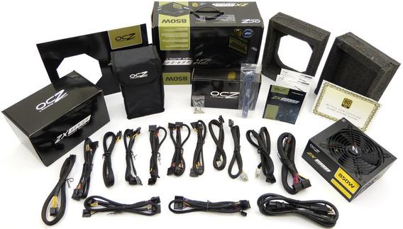 Fuente Poder Ocz Zx 850w Modular 80+ Gold Certificada