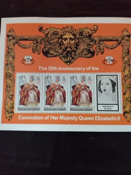 Estampillas The 25 Th Anniversary Majesty Queen Elizabeth