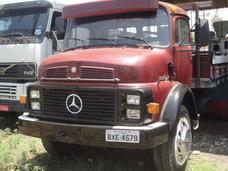 Mercedes-benz Mb 1318, Vermelha, Ano 1987