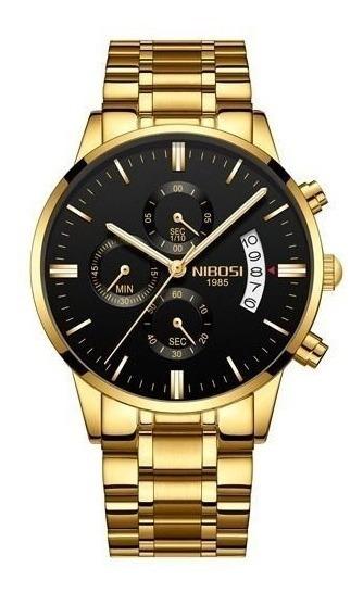 Relógio Original Nibosi 1985 Resistente A Riscos S/juros