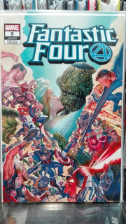Marvel Cómics Fantastic Four #5 Variante Alex Ross