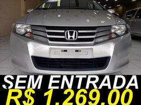 Honda City Ex 1.5 Aut. Único Dono 2012 Prata