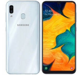 Celular Samsung A30 32gb Blanco