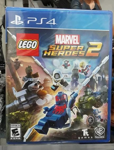 Jogo Lego Marvel Super Heroes 2 Novo Português Lacrado Ps4