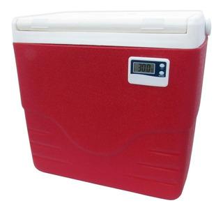 Caixa Térmica Com Termômetro 15,1 L Coleman-vermelho