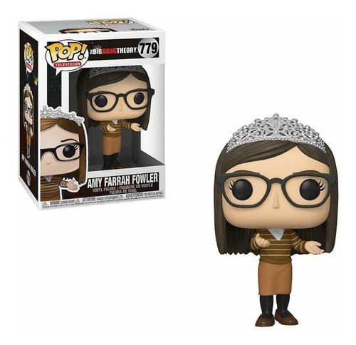 Figura Funko Pop The Big Bang Theory - Amy 779