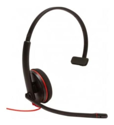 Imagem 1 de 2 de Headset Plantronics C3210 Blackwire Usb - Kit 05 Unidades