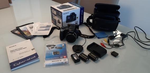 Câmera Sony Cybershot Dsc Hx1 Na Caixa E Com Acessórios