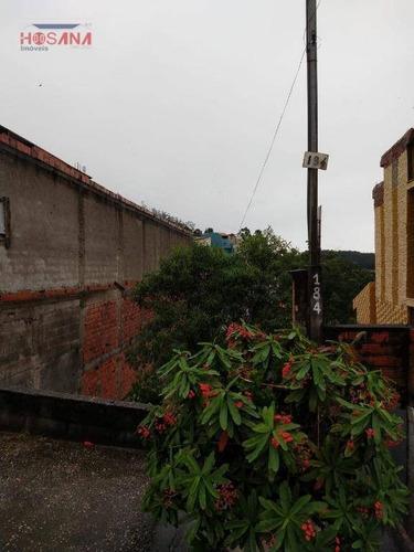 Casa Com 1 Dormitório À Venda, 50 M² Por R$ 130.000,00 - Jardim Marcelino - Caieiras/sp - Ca0624