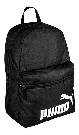 Mochila Puma Phase Backpack 075487-01 Negro Unisex Oi
