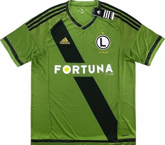 Camisa Legia adidas 2015/2016 Sambaquifut