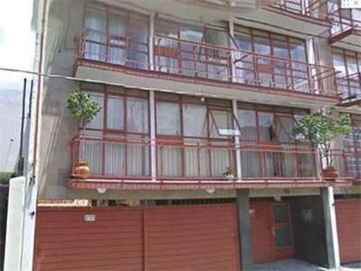 Id:9551, Departamento En Renta En La Colonia Lindavista, En La Calle De Callao # 773, Interior 7, Es Interior, Ubicado En El 2do. Piso, Cuenta Con Estancia Y Cocina Con Fregadero. Edificio De 3 Nive