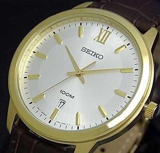 Reloj Seiko Hombre Sur036p1 Classic Gold.