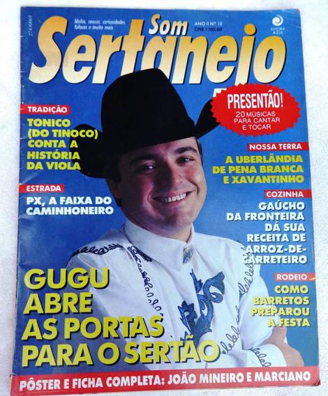 Revista Som Sertanejo Nº 15: Gugu - João Mineiro E Marciano