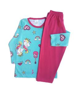 4 Pijama Infantil Inverno Menina Menino 1 Ao 14 Atacado