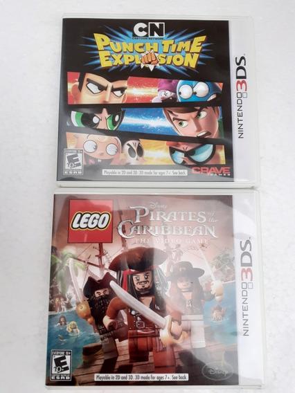 2 Jogo Nintendo 3ds Novos Completos Frete Gratis 12x Sem Jur