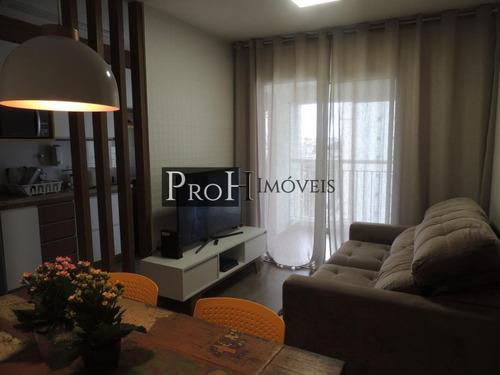 Imagem 1 de 15 de Apartamento Para Venda Em São Caetano Do Sul, Jardim São Caetano, 2 Dormitórios, 1 Suíte, 2 Banheiros, 1 Vaga - Viva63dav