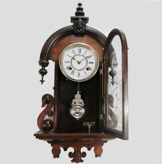 Relógio Parede Ansonia Promoção Maria Antonieta Corda 8 Dias