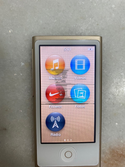 iPod 16gb Dourado Original