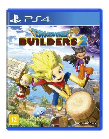 Jogo Dragon Quest Builders 2 - Ps4 - Novo - Mídia Física
