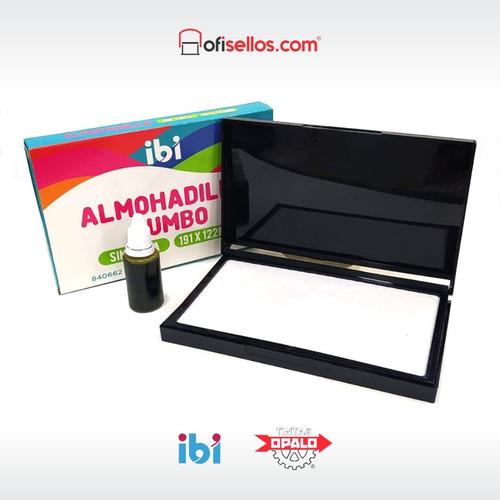 Almohadilla Ibi 17x9,5 Cms + Tinta Opalo Al Agua 25 Cc