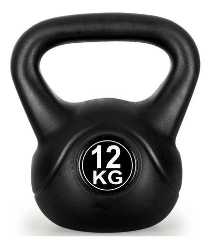 Pesas Rusa Kettlebell 12kg Crossfit Fitness Funcional / Lhua