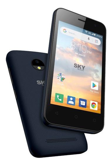 Celular Libre Sky Platinum B4 16gb 5mpx Dual Sim Funda Gtia