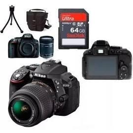 Câmera Nikon D5300 Wifi Com Lente 18-55mm + Lente 50mm