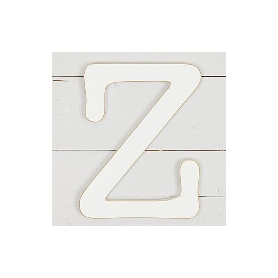11.5 Decoración De Pared De Máquina De Escribir Letra Z- Bla