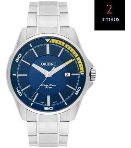 Relógio Masculino Orient Prateado Mbss1296