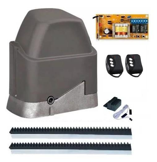 Kit Motor Dz Home 1/4 Ppa Para Portão Eletrônico