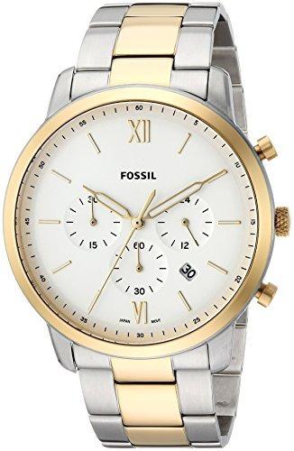 Reloj Cronografo De Dos Tonos Para Hombre Fosil.