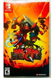 Has Been Heroes Nuevo - Nintendo Switch