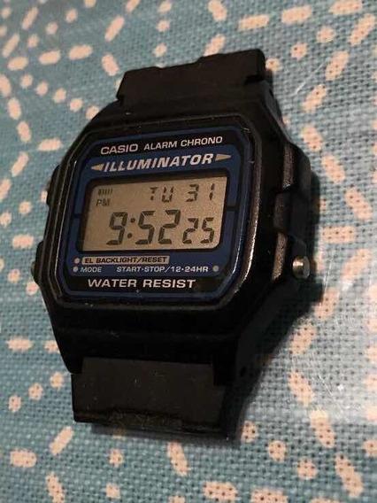 Reloj Casio Iluminator Water Resist F-105