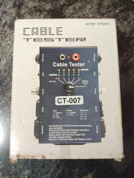 Testador De Cabos Sound Track Profissional Audio