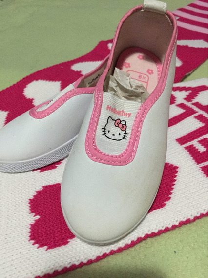 Zapatillas Hello Kitty Nena Originales