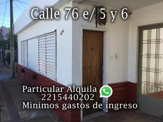 Alquiler Departamento La Plata Calle 76 E/ 5 Y 6