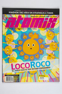 Revista Atomix #79 Loco Roco