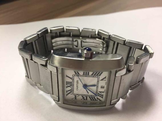 Relógio De Luxo Cartier Tank Quartz 2301